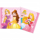 wholesale Party Items: Napkins Princess 33x33cm - 20 pieces