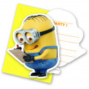 wholesale Licensed Products: Minions Invitations - 6 pieces