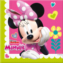 wholesale Licensed Products: Napkins Minnie Happy Helpers - 20 pieces