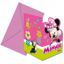 wholesale Licensed Products: Invitations Minnie Happy Helpers / 6