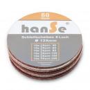 grossiste Peintre besoins: Disques abrasifs velcro Ø125mm 60 pièces mix