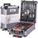 grossiste Mallettes, boites à outils et kits: Mallette à outils Clé combinée anthracite
