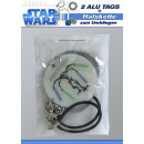 Star Wars Alu Tags - in a polybag