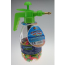 Water bombs with pump