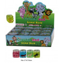Zoo animals putty - in Display