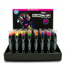 wholesale Drugstore & Beauty: Make-up pencils - Neon / UV reactive - in the Disp
