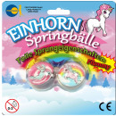 Unicorn jumping balls