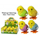 Windup plush chicks in the egg - in the Display