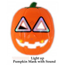 wholesale Decoration: Halloween mask with light and sound