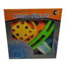 Chalk mandala spiral art set - in a cardboard box