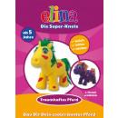 Elina the super-plasticine horses