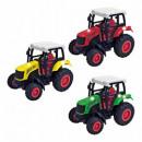Großhandel Spielwaren: Traktor mit Rückziehmotor - im Display