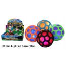 wholesale Toys: Sports ball with light - Ø 80 mm - in the Display