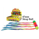 wholesale Toys: Rubber ball strap ball - in the Display