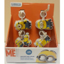 wholesale Keychains: Minions key pendant with light - in the polybag