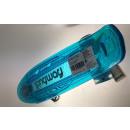 Mini deskorolka transparentna niebieska z oświetle