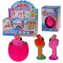 Magical Jumbo Eggs Flamingo - in Display