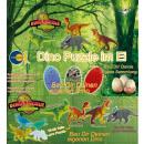 Dino Puzzle in het ei - in het Display