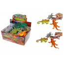 Lizards with color changing effect - im Display