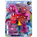 Soap bubble gun unicorn pink - manual