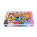 Funky Knüpfringe silicone collection box 2400 piec