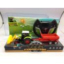 R / C remotamente tractor con remolque controlado