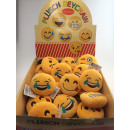 wholesale Keychains: Emoij Keyholder - Plush with sound - in Di