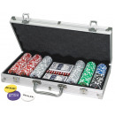 Poker Set 300 in aluminium koffer