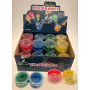 wholesale Gifts & Stationery: Funny jumping dough Transparent - in the Display