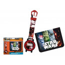 wholesale Licensed Products: Star Wars purse and digital clock in set