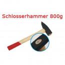 Schlosserhammer Schlosser Hammer mit Stiel aus Hol