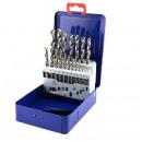 Großhandel Eisenwaren: HSS-G Bohrer 19tlg 1-10mm Bohrersatz Metallbox Met