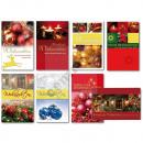 1 Glückwunschkarte Weihnachten Grußkarte Karte Wei
