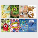 Großhandel Geschenkartikel & Papeterie: Glückwunschkarte Grußkarte Karte verschiedene Anlä