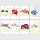 Glückwunschkarte Grußkarte Geburtstagskarten Blume