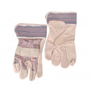 Großhandel Handschuhe: 1 Paar Leder Universalgröße 10 Arbeitshandschuhe H