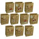Geschenktüte Weihnachten Handmade - Medium 23 x 18