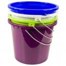 Großhandel Reinigung: Haushaltseimer mit Metallbügel, 5 Liter, Eimer Put