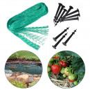 Großhandel Gartengeräte: Vogelschutznetz Laubschutznetz Gartennetz Teichnet