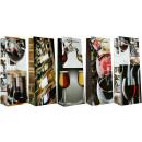 Geschenktüte Flaschentüte Jumbo Motiv Wein 36x13x9