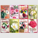 Glückwunschkarte Geburtstag Grußkarte Karte Flower