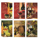 Glückwunschkarte Geburtstag Grußkarte Karte Wein 1