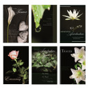 Großhandel Glückwunschkarten: Trauerkarten Beileidsbekundung Anteilnahme Karten