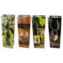 Geschenktüte Flaschentüte Wein- Jumbo 36 x 12 x 9