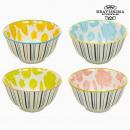 Set of bowls Porzellan Bettlaken (4 pcs) - Queen K