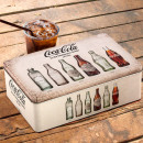 OUTLET Coca-Cola Retro Metal Box (Small scratches