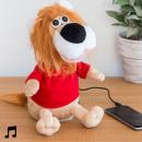 grossiste Electronique de divertissement: Lion en Peluche  avec Haut-Parleur Dancer