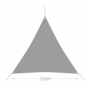 wholesale Parasols & Pavilions: Triangular Shade  Sail (3.6 metres) (Array: )
