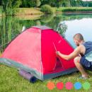 Großhandel Outdoor & Camping: Iglu Kuppelzelt (Farbe: Orange)