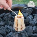 Iniciador de Fuego de Madera para Barbacoas BBQ Cl